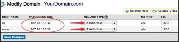 Modify-domain